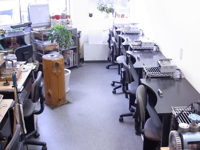教室の内観