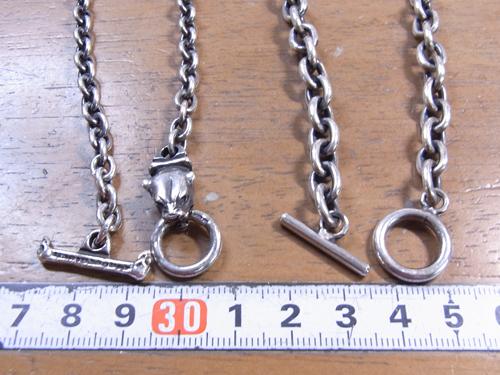ネックレスの金具交換 141227