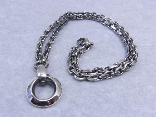 ネックレスのクリーニング 150129