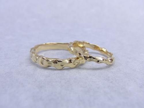結婚指輪にアレンジオーダー 150122