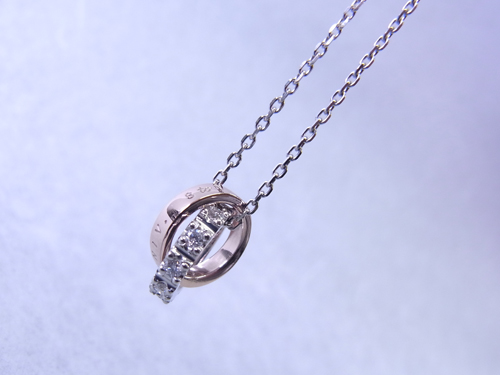オーダーメイド ネックレス スイートテンダイヤモンド 150331