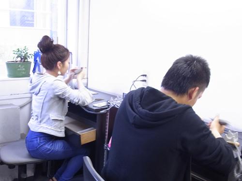 ペアリングの手作り体験教室 150506