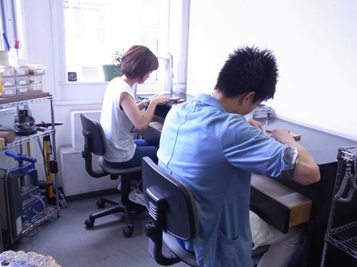 ペアリング 手作り体験教室 150706