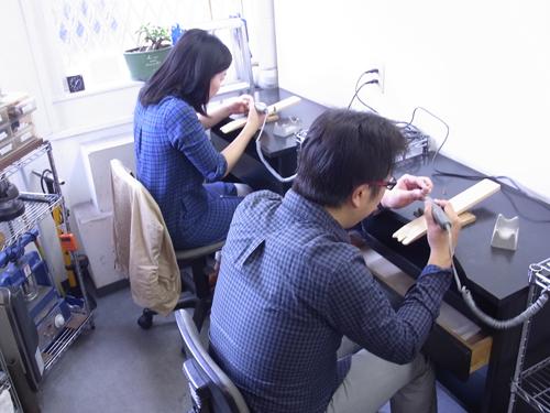 ペアリング 手作り体験教室 151010