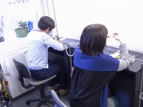 ペアリング手作り体験教室 151029
