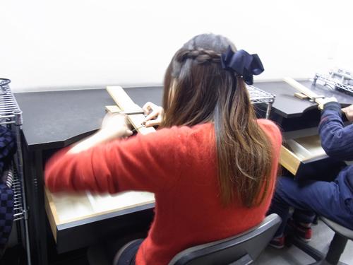 手作りアクセサリー 体験教室 151212
