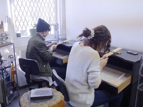 手作りアクセサリー 体験教室 160324