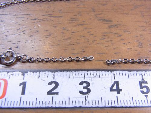 ネックレス修理 170606