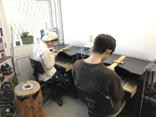 シルバーリング手作り体験 180130