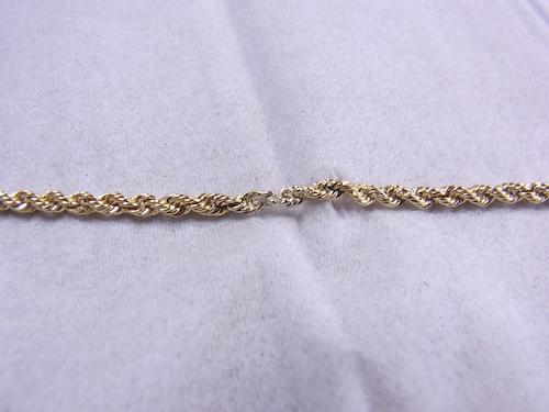 ネックレス修理 180503