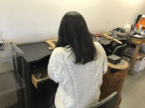 手作りリング 190108