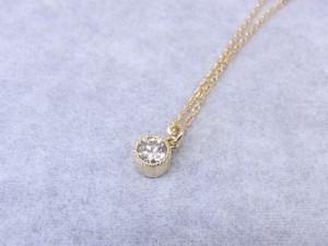オーダーメイド ダイヤモンドネックレス。