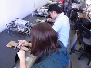 手作りアクセサリー 一日体験教室 141223