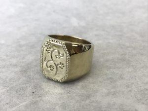真鍮リング 190329