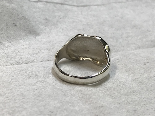 指輪の修理 190509