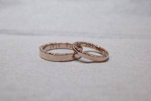 結婚指輪 190705