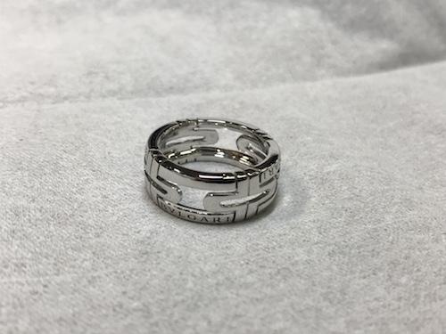 ブルガリ指輪 修理 190718