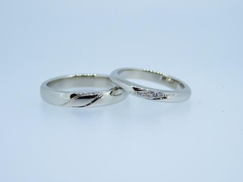 手作り結婚指輪 190924