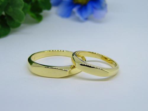 イエローゴールド結婚指輪191019