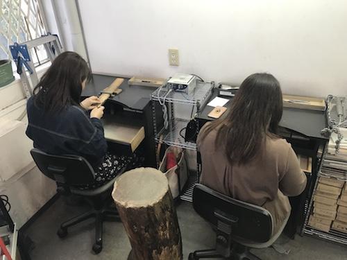 手作りアクセサリー体験191116