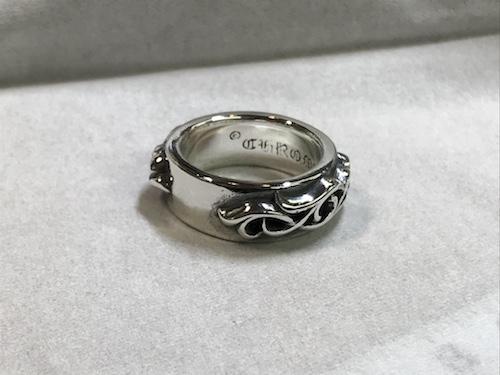 クロムハーツ指輪クリーニング191221
