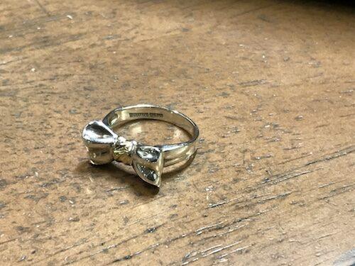 ティファニー指輪サイズ直し 200406