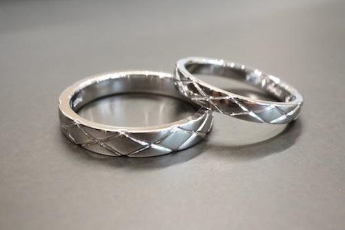 プラチナ結婚指輪200630