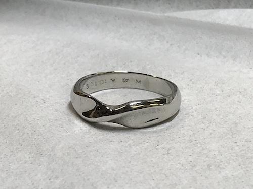 結婚指輪クリーニング200714