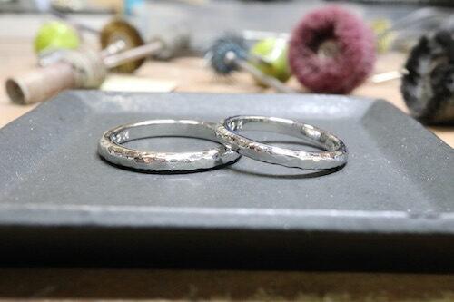 手作り結婚指輪200914