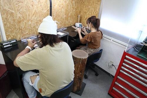手作り結婚指輪201008