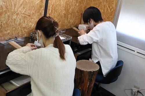 ペアリング 手作り体験201105