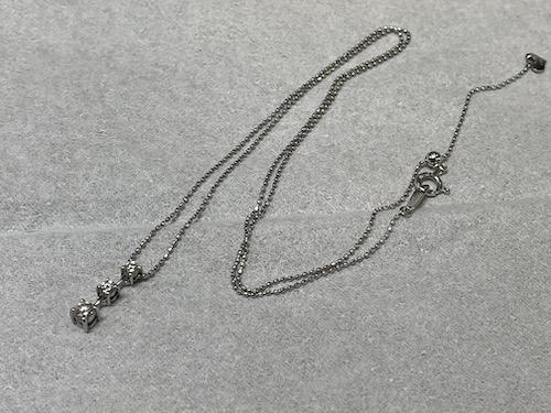 ホワイトゴールドネックレス 修理 210501