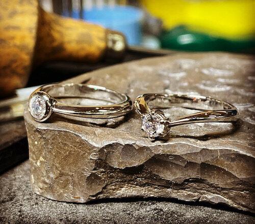婚約指輪 ダイヤモンドプラチナリング 210506