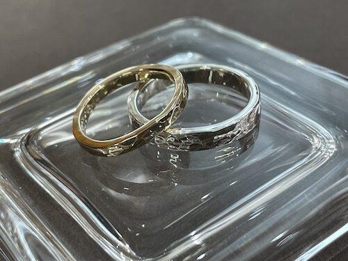 結婚指輪 手作り体験 210510